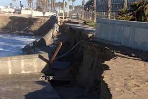 Port Hueneme begins emergency beach erosion work